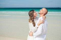 Love on the sea Stock Images