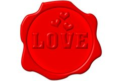 Love Seal Royalty Free Stock Image