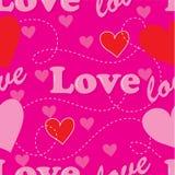 Love Seamless Stock Image