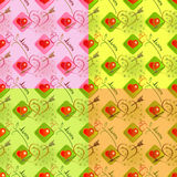 Love seamless pattern Stock Photo