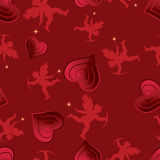 Love seamless pattern. Stock Photos
