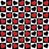 Love seamless pattern. Stock Photography