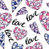 Love seamless pattern Royalty Free Stock Images