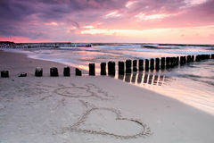 Love at seaside. Stock Photo