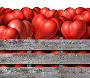Love Season Symbol Stock Image