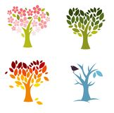 Love seasons vector illustration