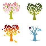 Love seasons royalty free stock image