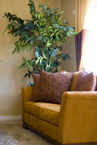 Love seat. In the living room Stock Photography