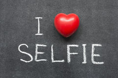 Love selfie Royalty Free Stock Images