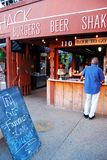 Love Shack. Is a Local Favorite at the Ft Worth Stockyards Royalty Free Stock Photography