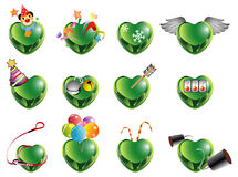 Love shape 2 vector illustration