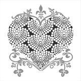Love shape royalty free illustration