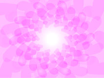 Love Shape in Pink Stock Images