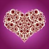 Love shape2 Royalty Free Stock Photo
