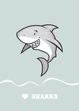 Love sharks Royalty Free Stock Images