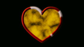 Love shield stock video footage