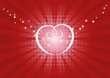 Love shine vector illustration