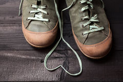 Love of shoes Royalty Free Stock Photos