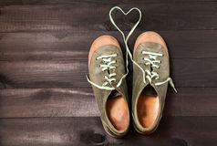 Love of shoes Stock Photos