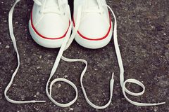 Love shoes Stock Image