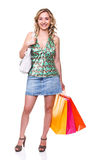 Love shopping Stock Photography