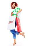 Love shopping Royalty Free Stock Photos