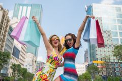 We love shopping Royalty Free Stock Photography