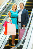 We love shopping together! Stock Photos