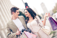 We Love Shopping Royalty Free Stock Images