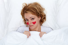 Love sick concept Stock Image