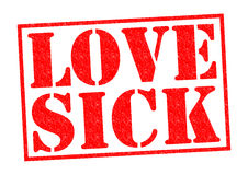 LOVE SICK Royalty Free Stock Photos
