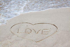 Love sign Stock Photography