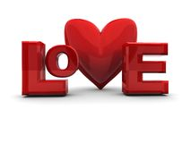 Love sign Royalty Free Stock Photography