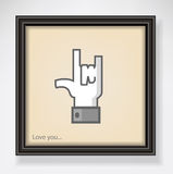 Love sign Stock Photos