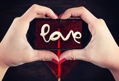 Love sign Royalty Free Stock Photos