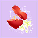 Love sign. Royalty Free Stock Photo