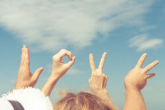 Love  sign language Royalty Free Stock Photography