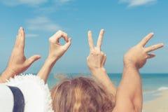 Love  sign language Royalty Free Stock Photo