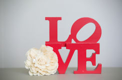 Love sign. Stock Photo