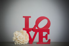 Love sign. Stock Photography