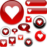 Love Signs. Royalty Free Stock Photo