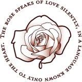Love Silently Royalty Free Stock Photos