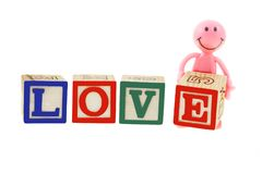Love and smiley Stock Photo