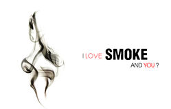 Love Smoke Stock Photos