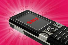 Free Love Sms Royalty Free Stock Images - 12450869