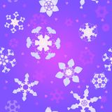 Love snowfall Royalty Free Stock Images