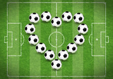 Love for Soccer Stock Images