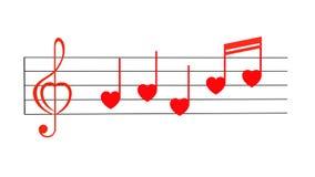 Love song Stock Photos