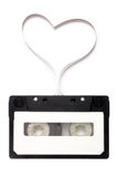 Love songs. Photo of Love songs on white background royalty free stock photography