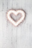 Love sparkle heart Stock Images